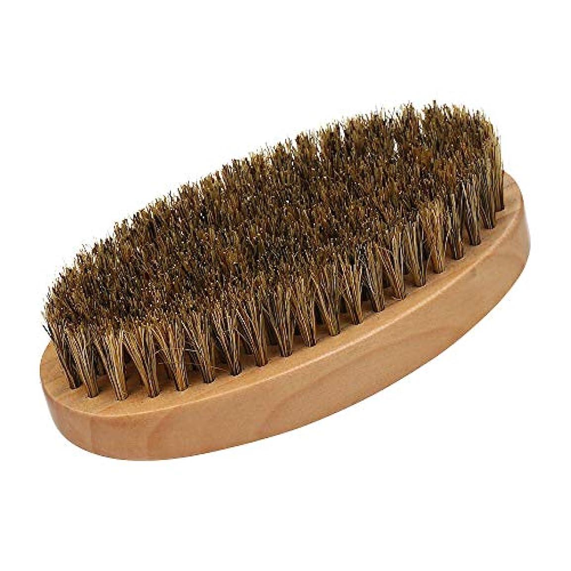 Decdeal ひげブラシ シェービング用ブラシ メンズシェービングブラシ髭剃り