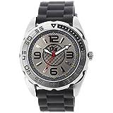 [イクサ]iXa 腕時計 カータイヤモチーフ メンズラバーウォッチ BG999-BK