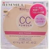 リンメル CCパウダーエアリーフィニッシュ001 ナチュラル 14g SPF18・PA++