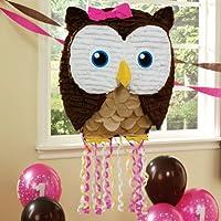 Owl Pink Pull-String Pinata OWLピンクプル文字列ピニャータ?ハロウィン?クリスマス?