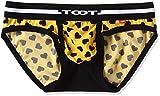 (トゥート)TOOT メンズ パンツ ハートモノグラム シームレスカップ ビキニ ナイロン 素材 (前閉じ) CV36G350 CV36G350 03 イエロー L
