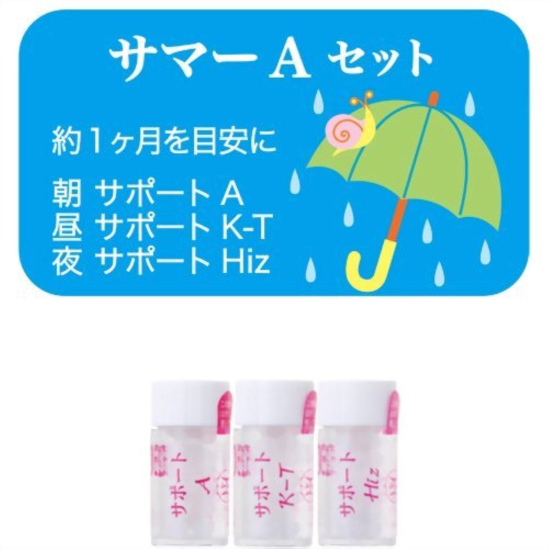 ボトルネック薬理学適応するホメオパシージャパンレメディー サマーAセット