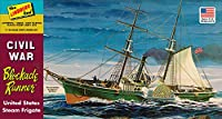HL401 1/124 アメリカ南北戦争 ブロッケード・ランナー 封鎖突破船 プラスチックモデルキット