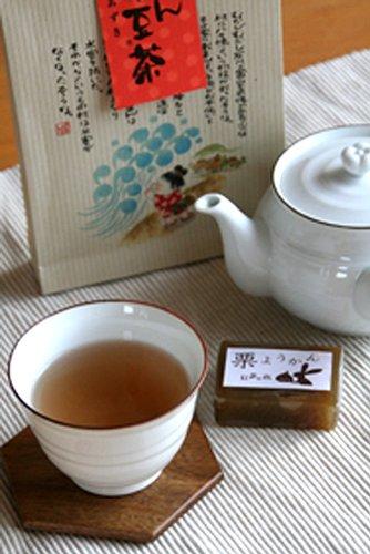 お茶のあずま園 茶香ばしく飲みやすい健康茶 おまん小豆茶 ティーパック5gx10ヶ入り