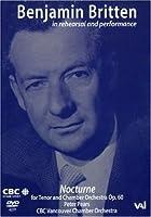 Benjamin Britten in Rehearsal & Performance [DVD] [Import]