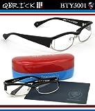 【キューブリック メガネ】人気セレクトショップEROTICAとのコラボモデル!Qbrick メガネフレーム BTY5001