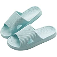 Mianshe Men's Non-Slip Shower Slippers Pool Shoes Women's Slide