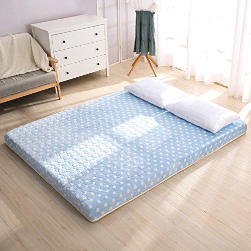 畳マットレス, キルティング マット折りたたみクッション フロアマット滑り止めベッド保護パッド クイーン サイズ ベッド保護パッド寮ベッド保護パッド-A 150 * 200cm(59x79inch)