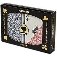 COPAG コパッグ 1546 レッド&ブルー[ポーカーサイズ]【トランプ】