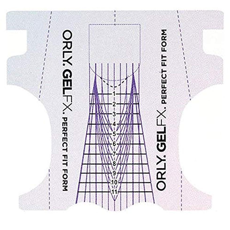 バトル予想する隣接するOrly Gel FX - Perfect Fit Forms - 22 count