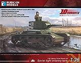 ルビコンモデル 1/56 ソビエト軍 T-26 中戦車 プラモデル RB0070