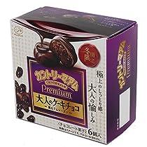 不二家 カントリーマアムプレミアム(大人のケーキチョコ) 6個×5箱