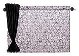 ナポレックス ディズニー 車用カーテン 2枚入り メッシュ&遮光の2重構造 ダブルカーテン ミッキー 汎用 BD-134