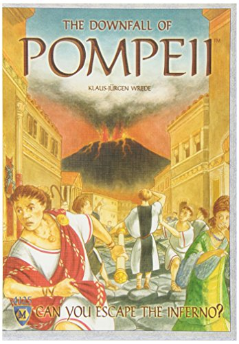ポンペイ滅亡 The Downfall of Pompeii ボードゲーム日本語説明書付き