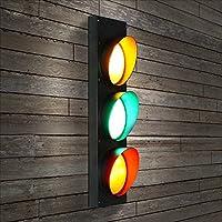 ウォールランプトラフィックライトレトロ創造交通信号灯レストランアイル回廊バーパーソナルカラーカフェアイアン