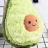 RAINBEAN Cute Avocado Plush Toy Mini Comfort Food Pillow Plushie Soft Fruit Stuffed Cushion Doll Christmas Birthday Gift Bedr