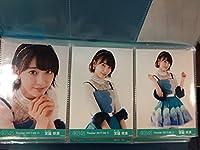 宮脇咲良 AKB48 月別 生写真 2017年 6月 June ① 3枚コンプ