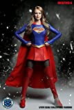SUPER DUCK SET013-A 1/6 SUPER GIRL スーパーガール 美人ヘッド と服セット