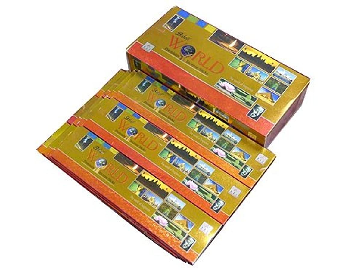 スキーム配管そのBALAJI(バラルジ) ワールド香 スティック WORLD 12箱セット