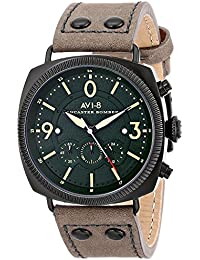 AVI-8 腕時計 LANCASTER BOMBER 電池式クォーツ クロノグラフ メンズ AV-4022-05 [並行輸入品]