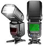 Neewer NW620マニュアルストロボ LCDスクリーン Canon Nikon Panasonic Olympus Pentaxなどに対応 例:Canon7D Mark II,5D Mark II III IV,1300D,Nikon D7200,D7100,D7000,D5500,D5300
