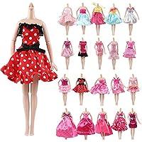 バービー用 服 ドレス 人形 着せ替え洋服 ワンピースセット 10枚入り