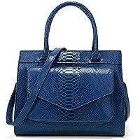 Handbag-Bag for Women,High Capacity New Snake Pattern Tote, Simple and Atmospheric Fashion Ladies Bags, Messenger Bags/Shoulder Bags