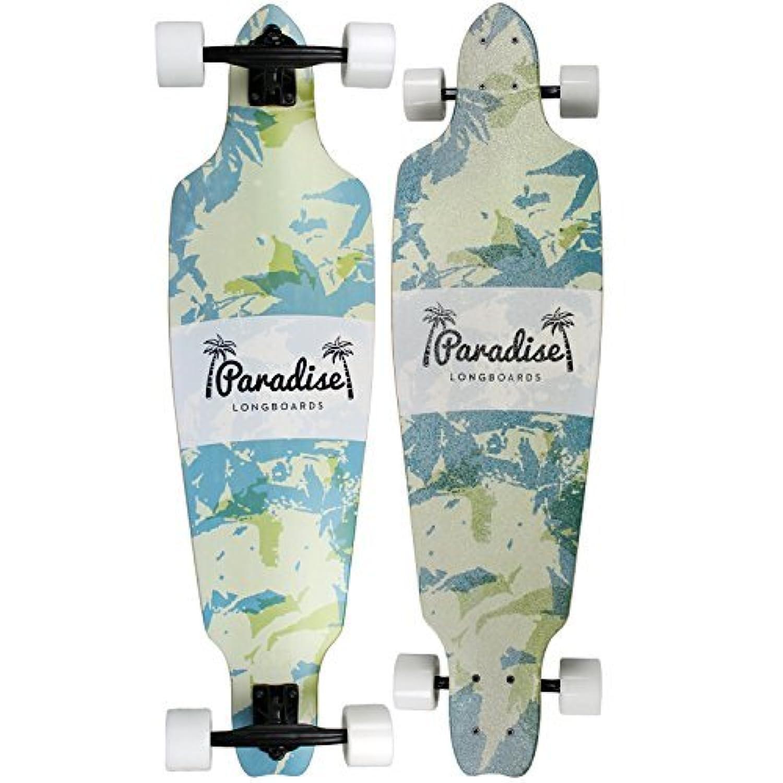 PARADISE Foliage Freestyle Complete Longboard [並行輸入品]