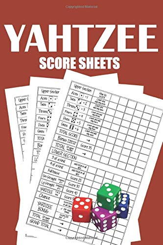 Yahtzee Score Pads: 120 Pages ...