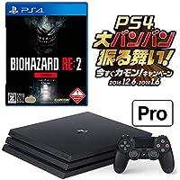PlayStation 4 Pro 1TB お好きなダウンロードソフト2本セット(配信) + BIOHAZARD RE:2 Z Version  セットCUH-7200BB01【CEROレーティング: Z】