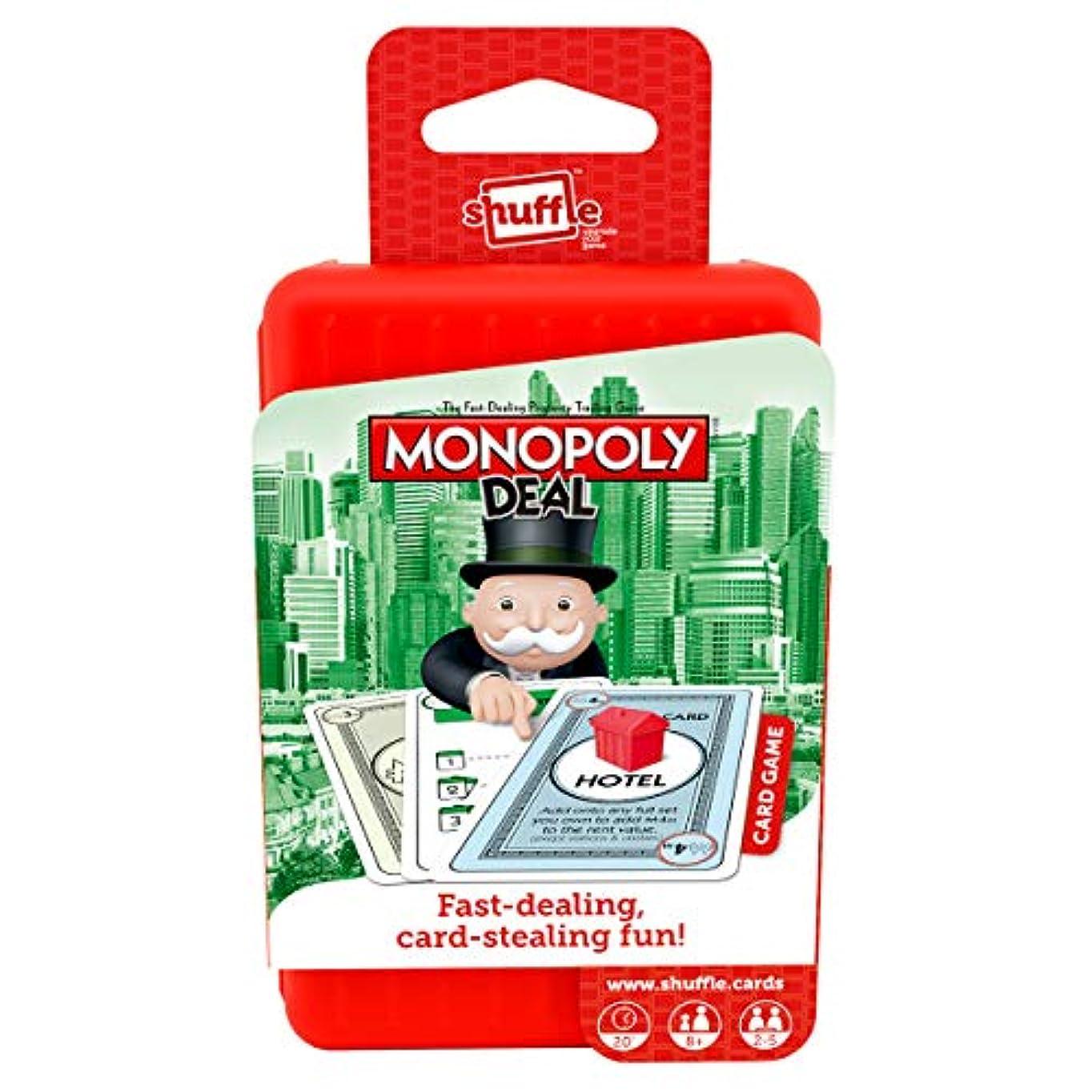 神話細断毒(Monopoly-Deal) - Monopoly Deal Shuffle Card Game