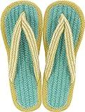 現代百貨 コットンサンダル ルーエ ライトブルー レディース フリーサイズ 約 23~25cm LIGHT BLUE 7404-06