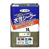アサヒペン 水性シーラー ライトレモン 14L