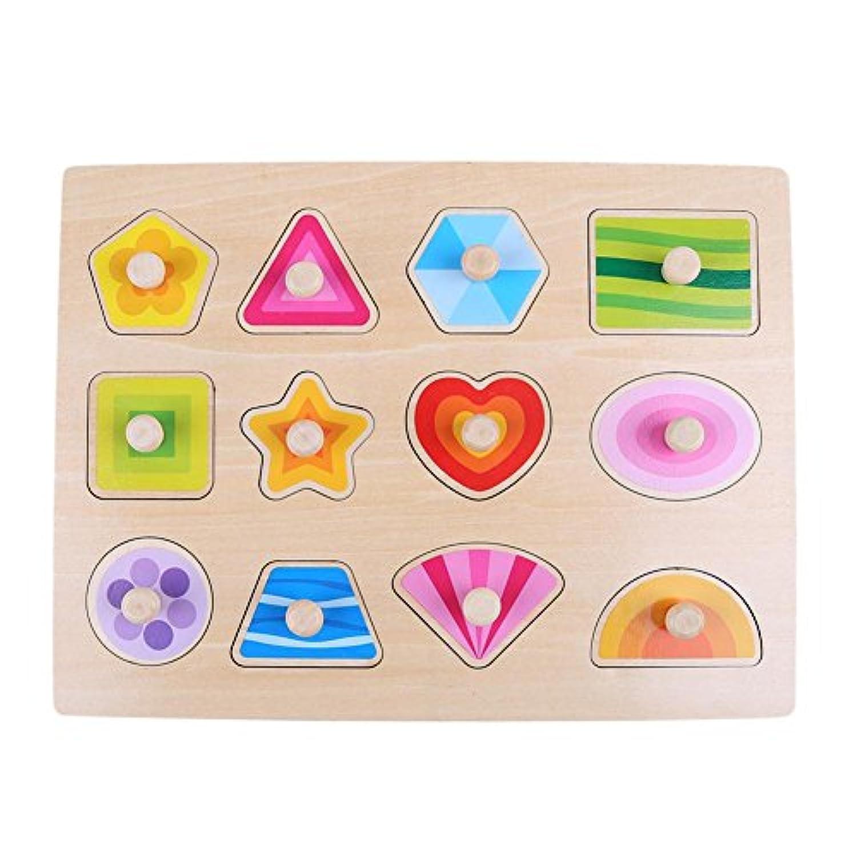 木製ベビー子供玩具認識機能パズルボードクラッチプレート教育 300.00*225.00*80.00 1qa7tx7ta0bb9zb7D06