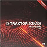 Native Instruments DJアクセサリー TRAKTOR Scratch Control Vinyl MK2 Red