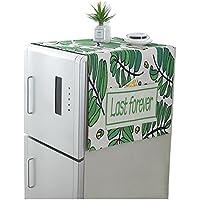 冷蔵庫ダストカバー ストレージカバー ポケット付き 洗濯機 カバー 汚れ防止カバー 収納カバー 掛け式収納袋 防塵 収納 便利 多用途カバー