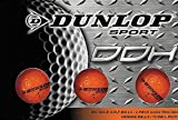 Dunlop DDH距離ゴルフボール(12パック)、スモール、オレンジ