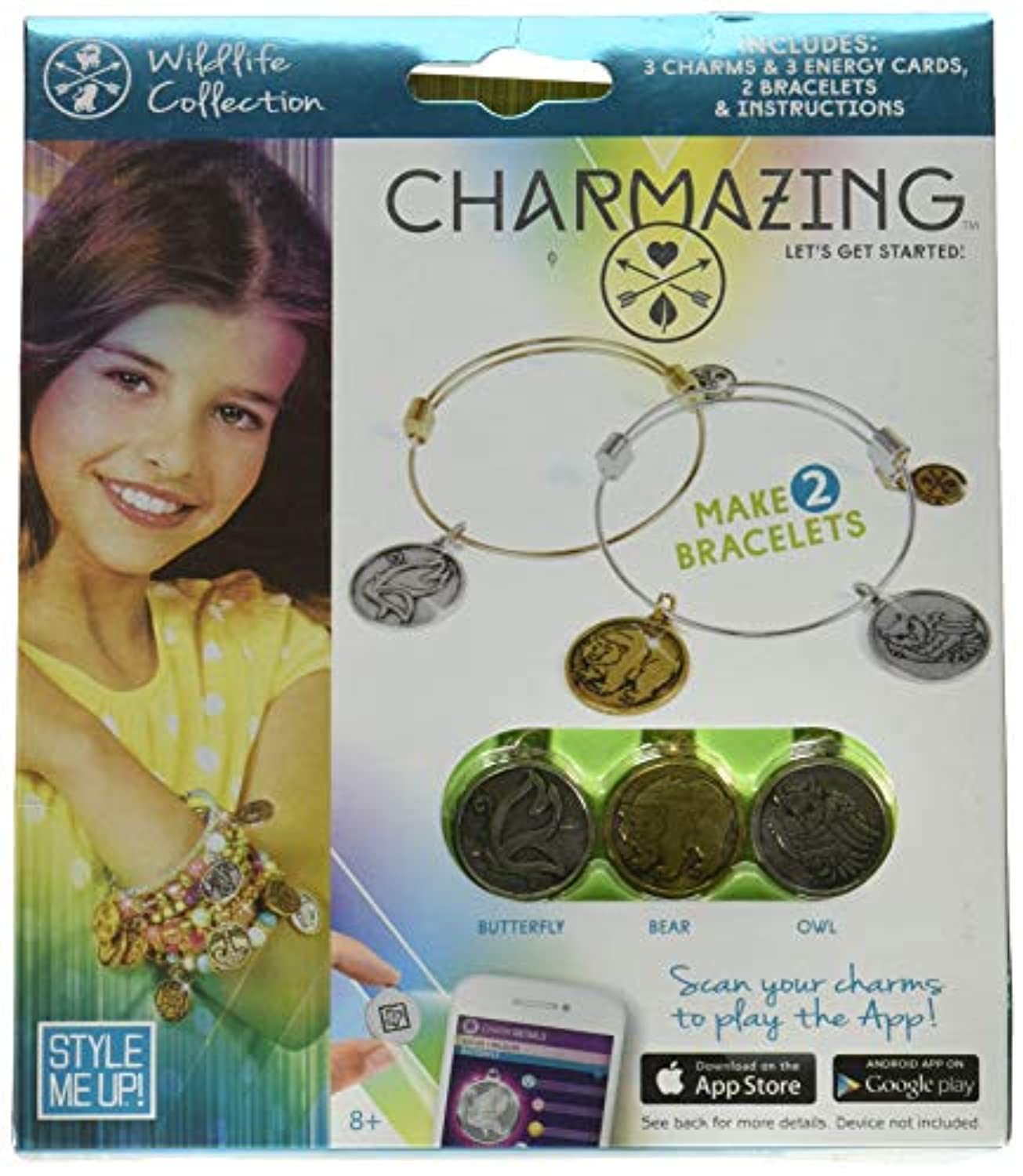 Style Me Up Charmazing - Let's Get Started - Forest Collection