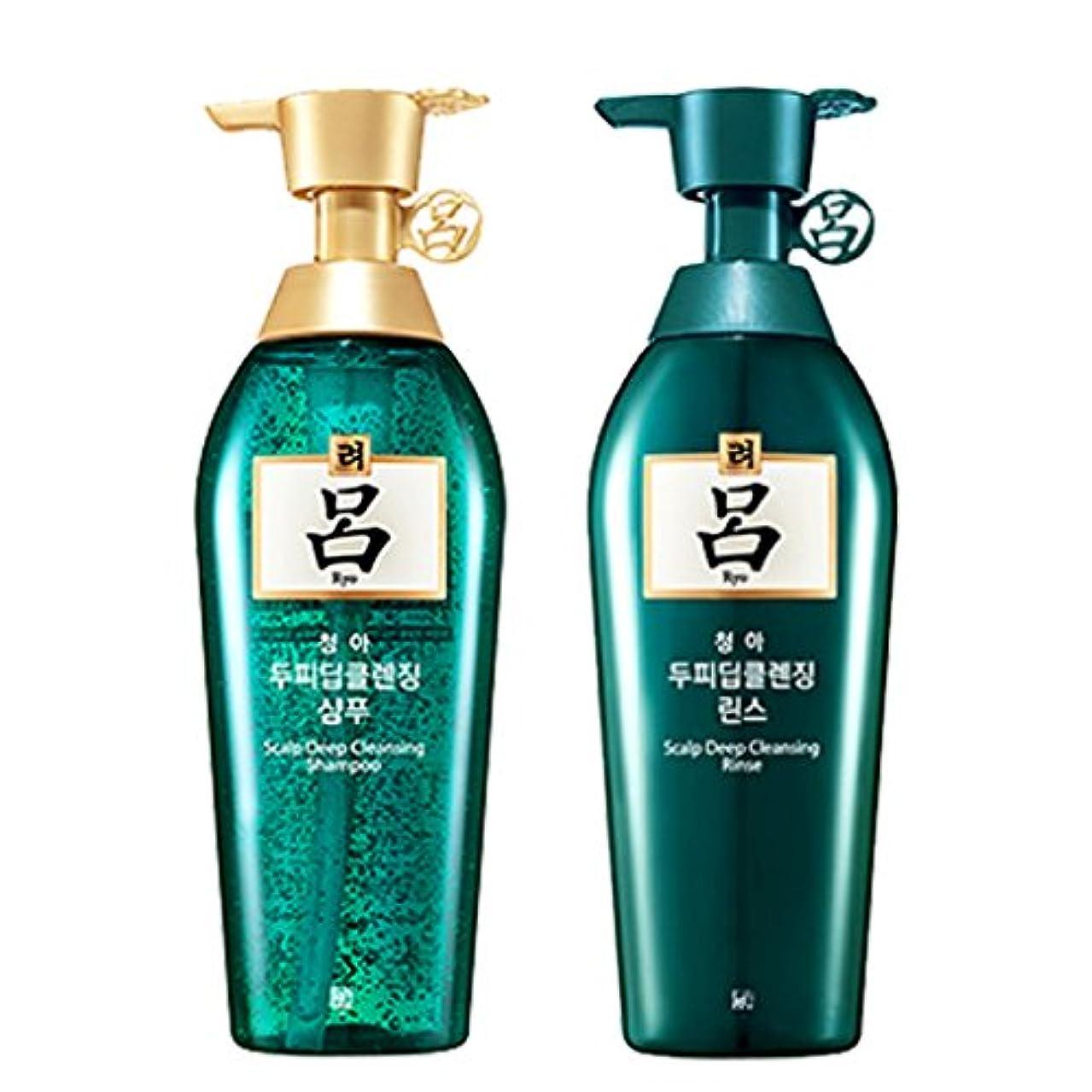 基礎通訳洗剤呂(リョ) 清雅 スカルプシャンプー+リンス 500ml