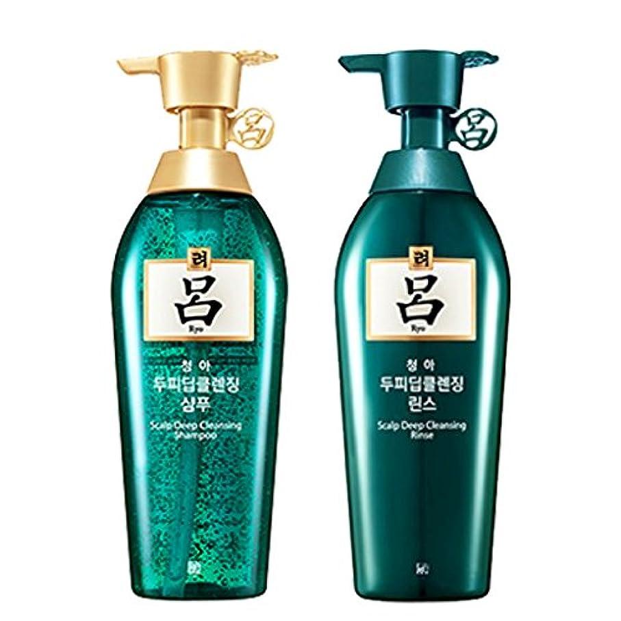 材料石鹸拷問呂(リョ) 清雅 スカルプシャンプー+リンス 500ml