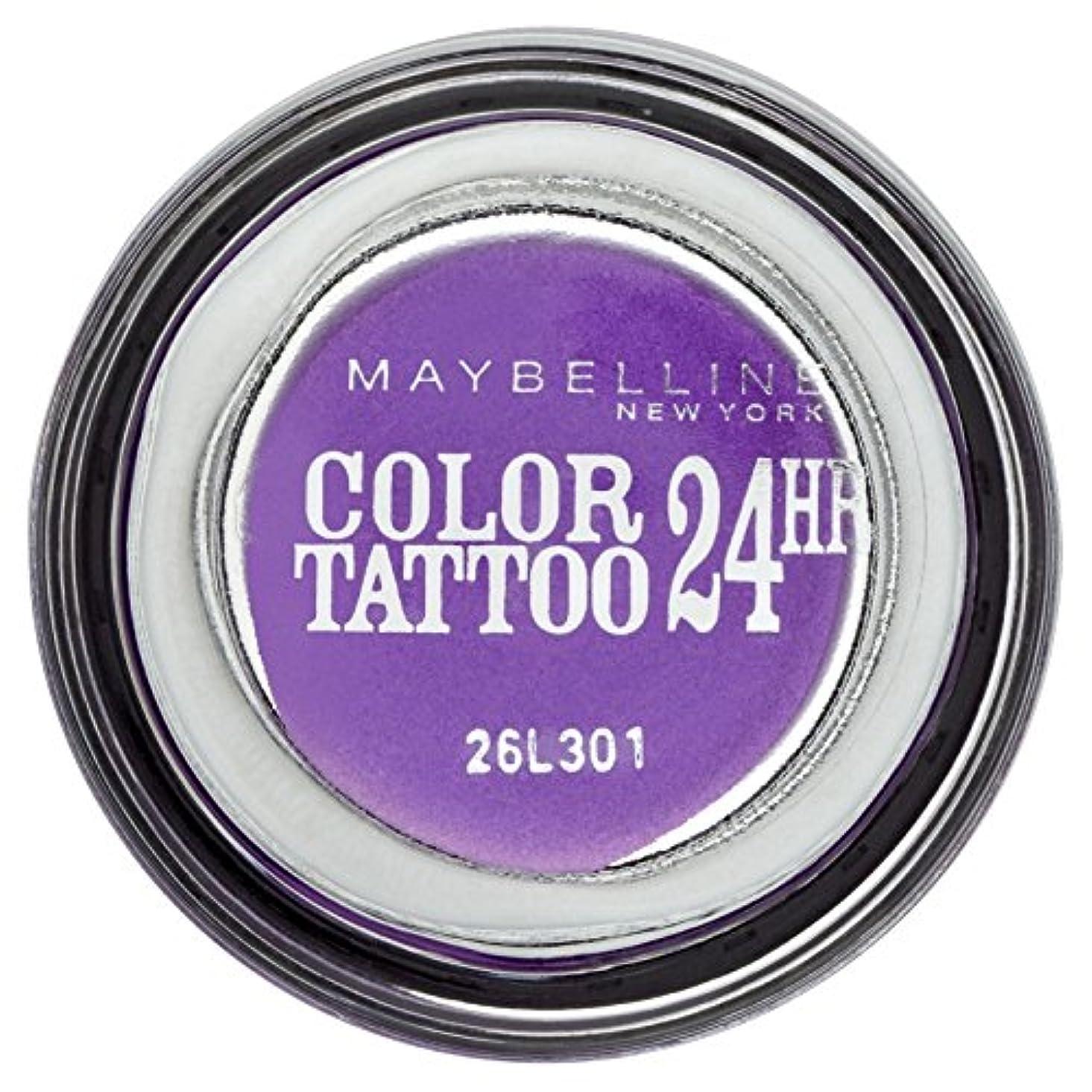 不規則性バラ色ファームGemey-Maybelline - Color Tattoo - Lidschatten