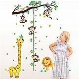 OMASI ウォールステッカー ディズニー 壁紙シール おしゃれ 身長計 幼稚園 ベッドルームに対応