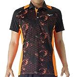 (ミズノ)MIZUNO トレーニングウェア ソーラーカットポロシャツ [ユニセックス] 32MA7170 54 オレンジクラウンフィッシュ L