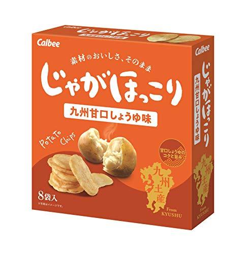 じゃがほっこり 九州甘口しょうゆ味 8袋入