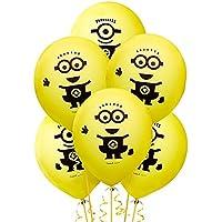 ミニオンズ 飾り付け ゴム 風船 バースデー 誕生日 Minions パーティー 6個入
