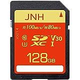 SDカード SDXCカード 128GB JNH UHS-I超高速100MB/s Class10 U3 V30 4K Ultra HD 対応 エコパッケージ【国内正規品 5年保証】