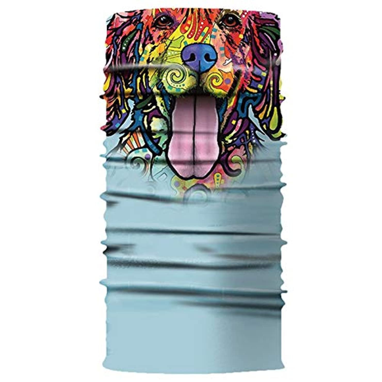 助けになるバルセロナリードSemoic 3D魔法タオルデジタル印刷日焼け止めライディングカラー魔法ヘッドスカーフ(AC 029)