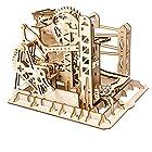 0時から【タイムセール】リフトコースター 3D立体パズル ギア 手回し レーザー 木製 クラフト キット プレゼント (リフト)が激安特価!