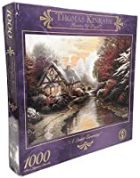 A Quiet Evening by Thomas Kinkade Painter of Light - 1000 Piece Jigsaw Puzzle [並行輸入品]