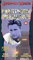 Maximum Overdrive [DVD] [Import]